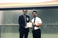 樂繫校園獎勵計劃  可譽榮獲「行動連繫」獎項 | Ho Yu receives a special award in Hi-Five Student Engagement Award Scheme 2018-19