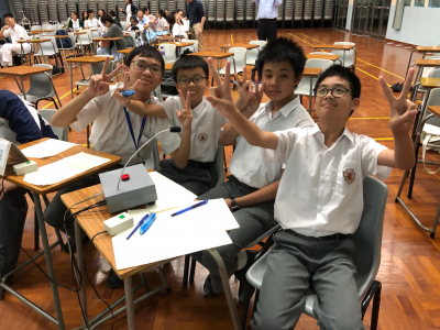 我思故我在積極創佳績  第七屆聯校初中數學邀請賽 |Winning the Overall Champion and other individual prizes in the 7th Joint School Junior Secondary Mathematical Invitation